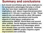 summary and conclusions34