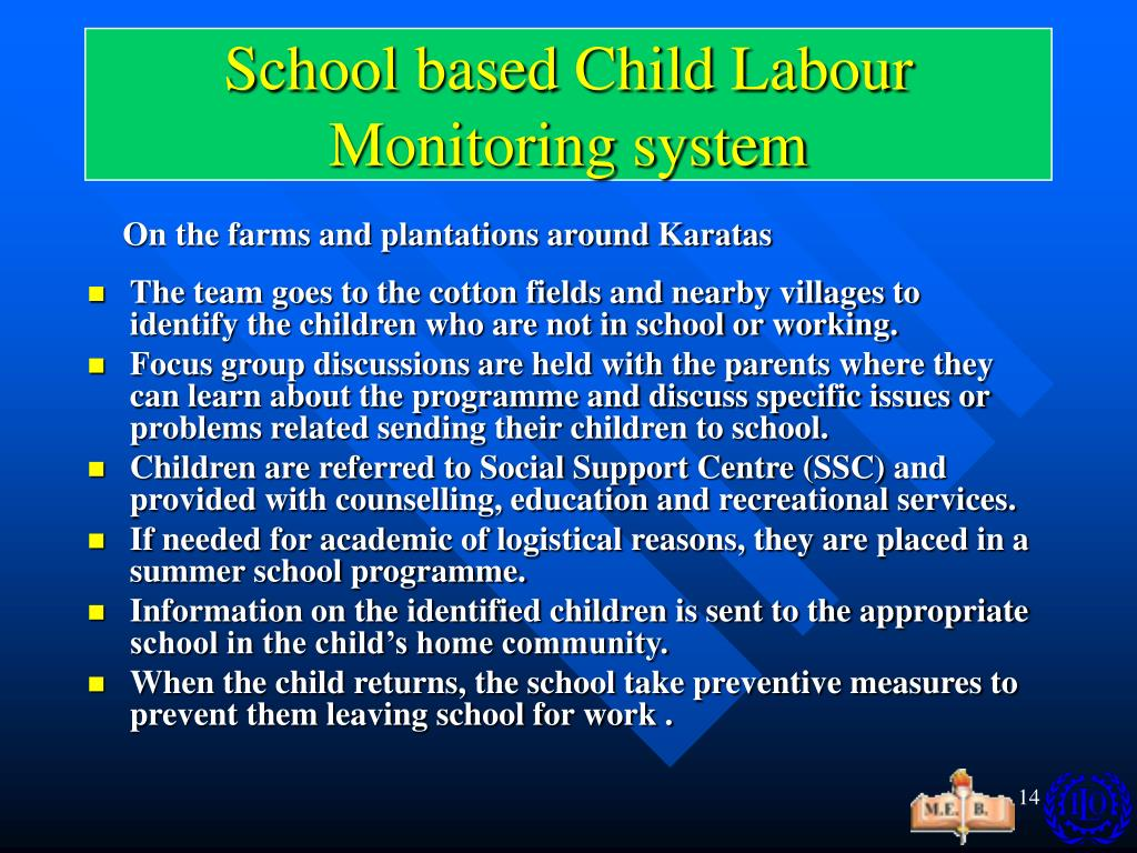 School based Child Labour Monitoring system