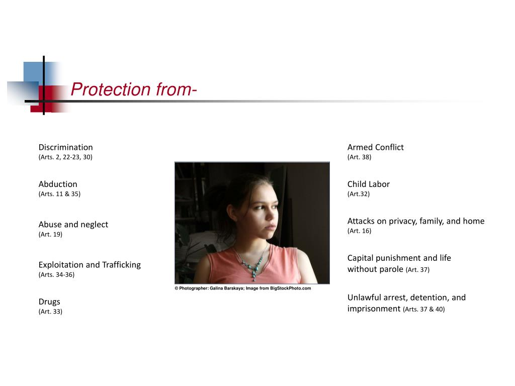 Protection from-