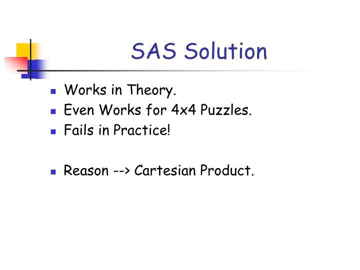 SAS Solution