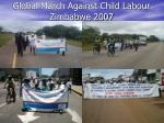 global march against child labour zimbabwe 2007
