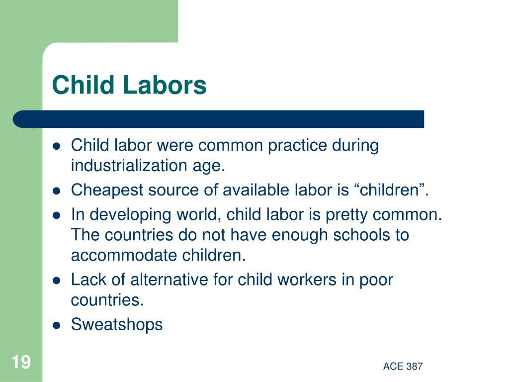 Child Labors