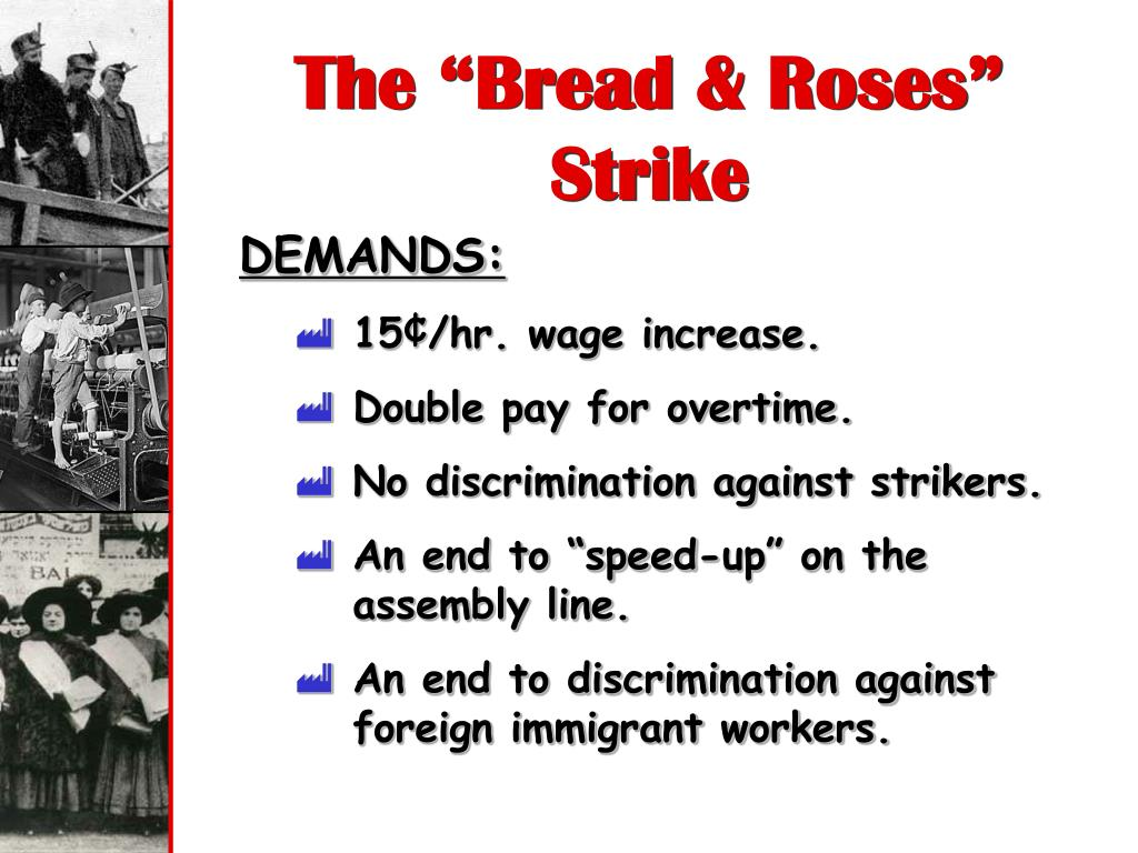 "The ""Bread & Roses"" Strike"