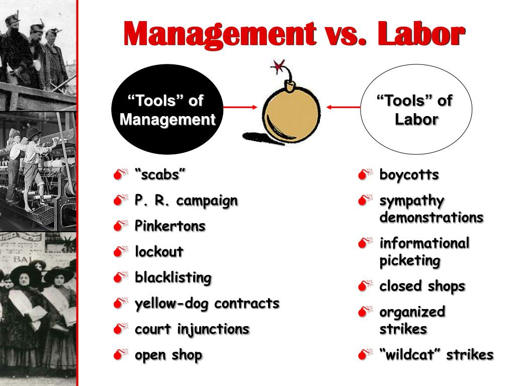 Management vs. Labor