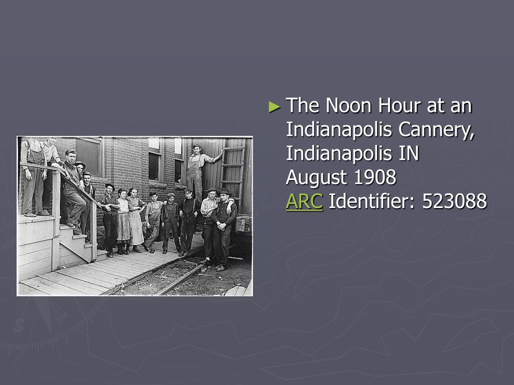 The Noon Hour at an Indianapolis Cannery, Indianapolis IN