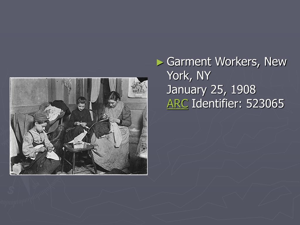Garment Workers, New York,NY
