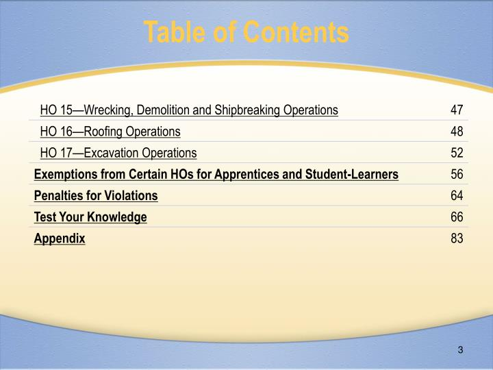 Table of contents3 l.jpg