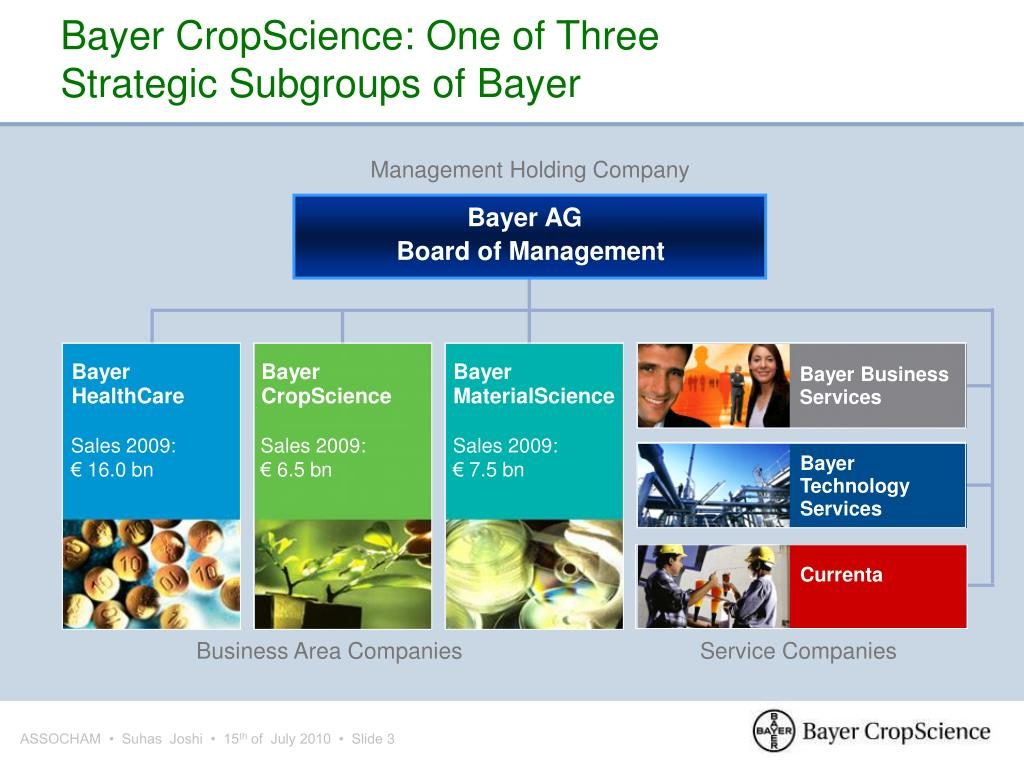 Bayer CropScience: One of Three