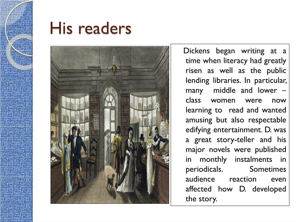 His readers