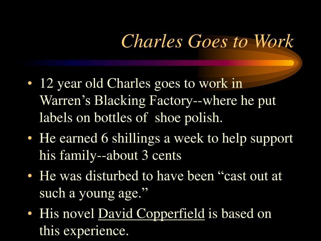 Charles Goes to Work
