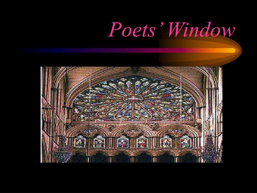 Poets' Window