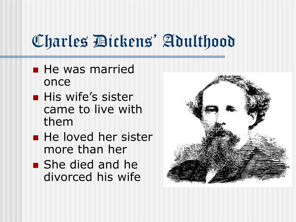 Charles Dickens' Adulthood