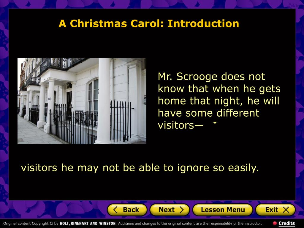 A Christmas Carol: Introduction
