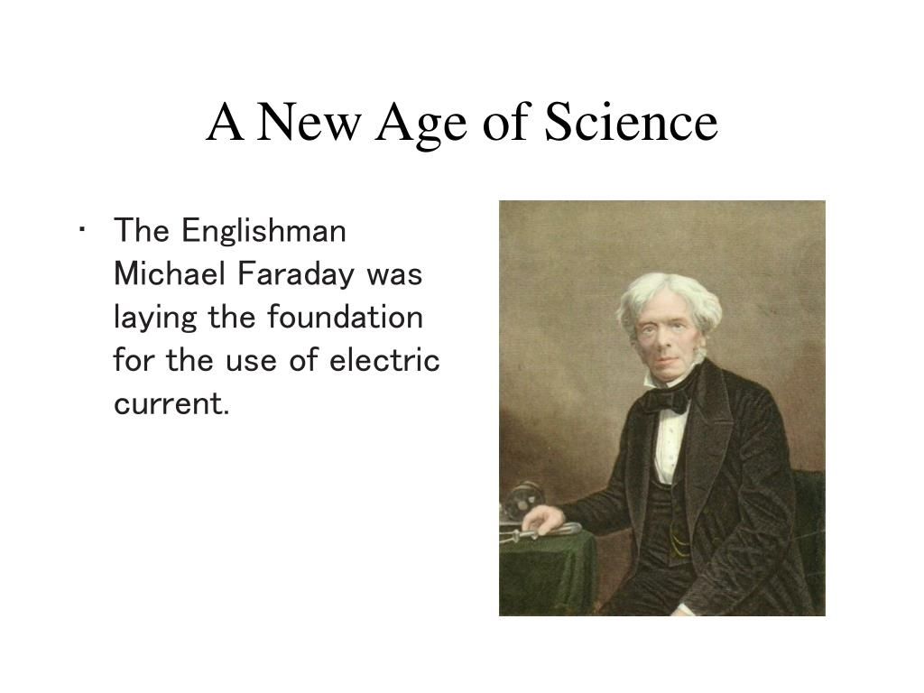 A New Age of Science