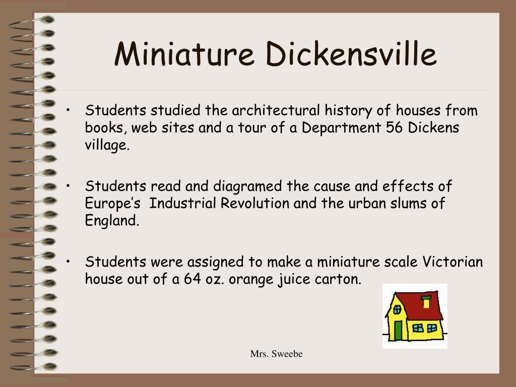 Miniature Dickensville