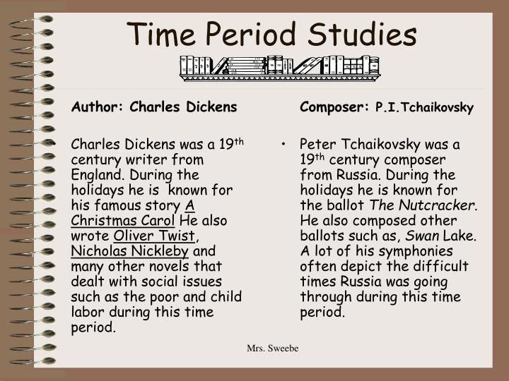Time period studies