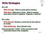 write strategies
