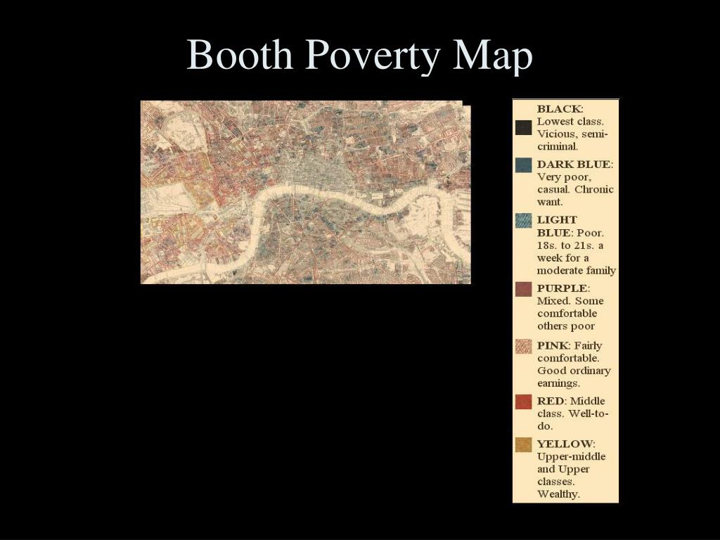 Booth Poverty Map