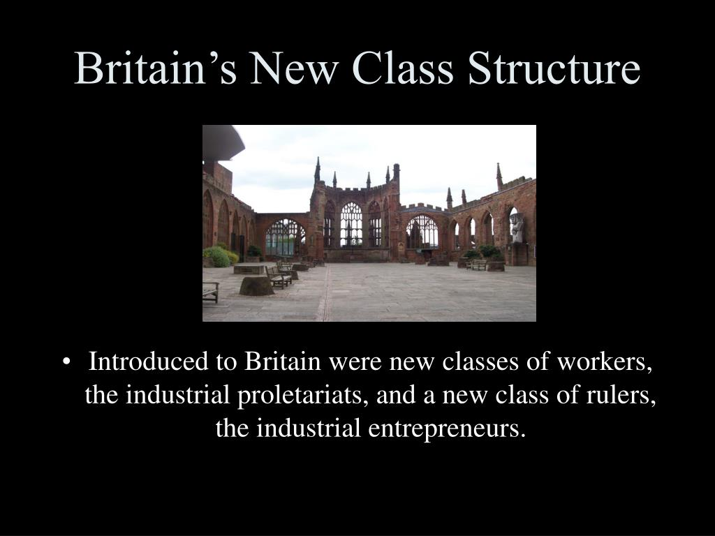 Britain's New Class Structure