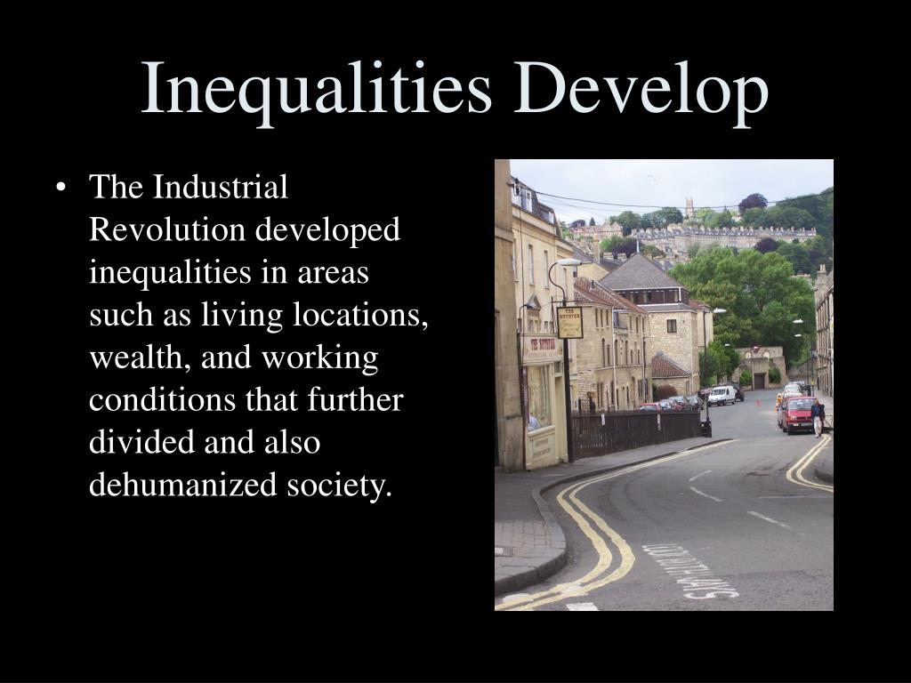 Inequalities Develop