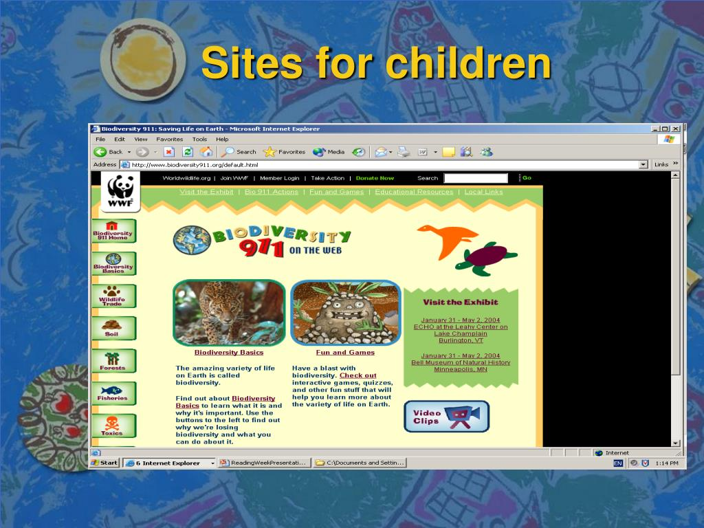 Sites for children