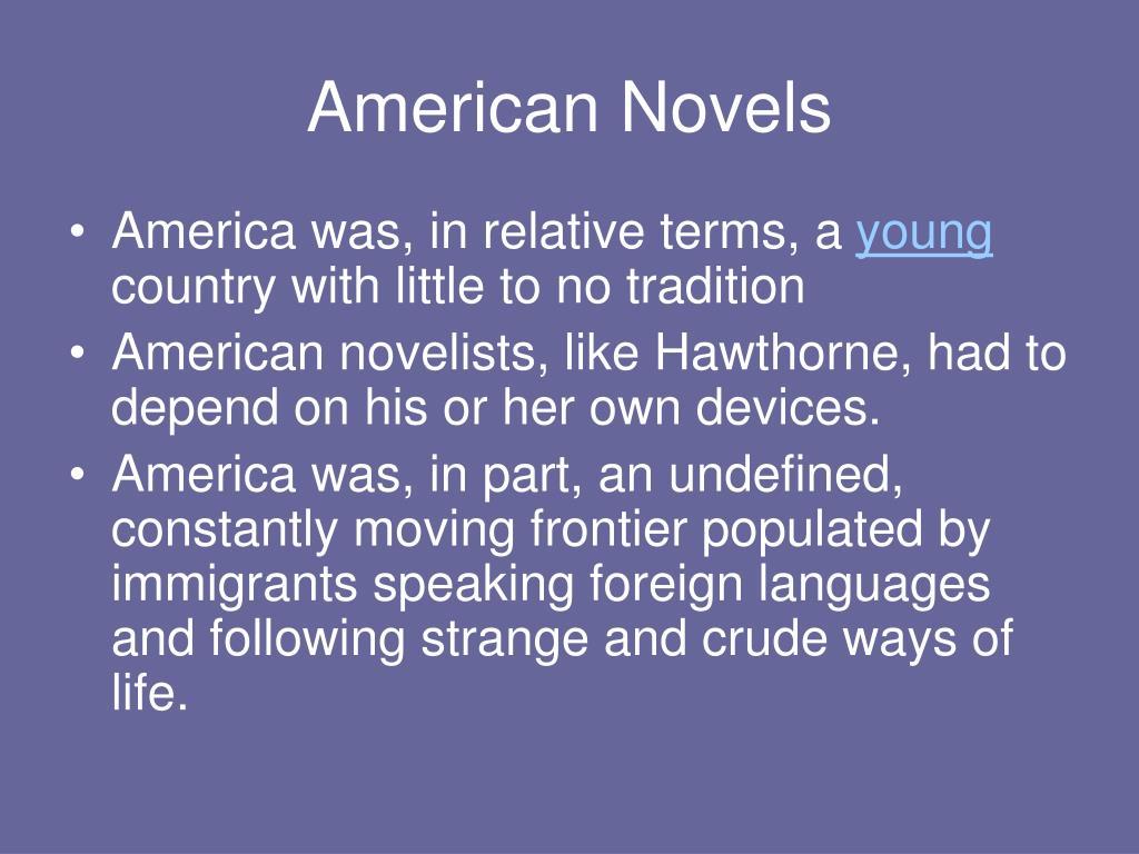 American Novels