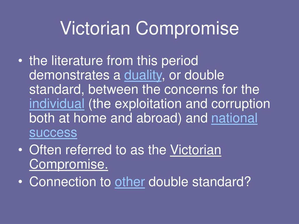 Victorian Compromise