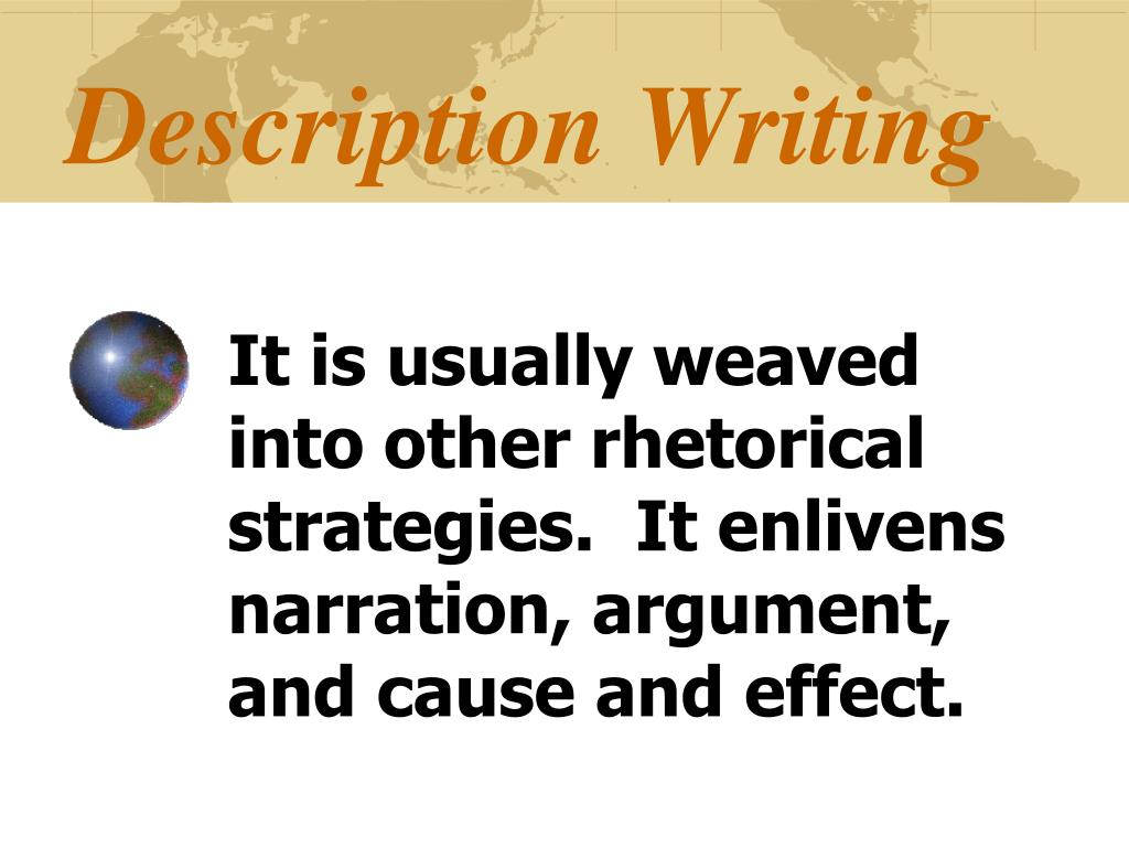 Description Writing
