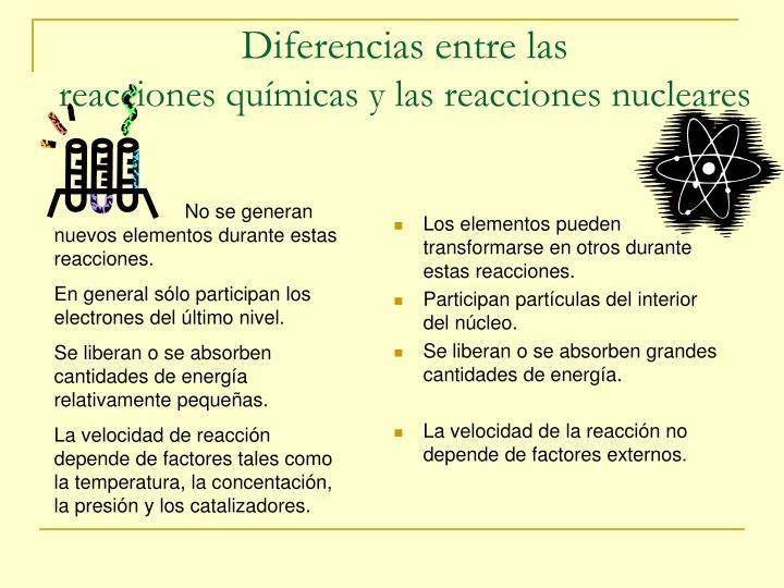 Diferencias entre las