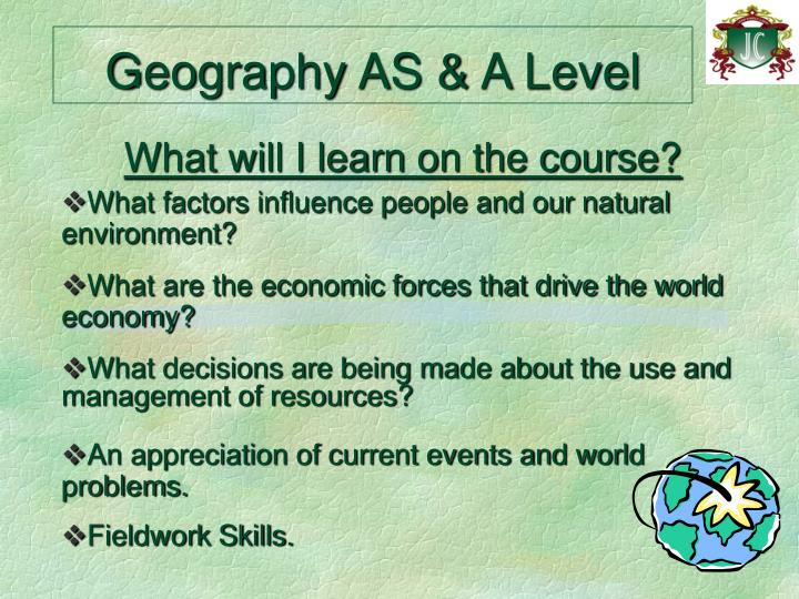 Geography AS & A Level