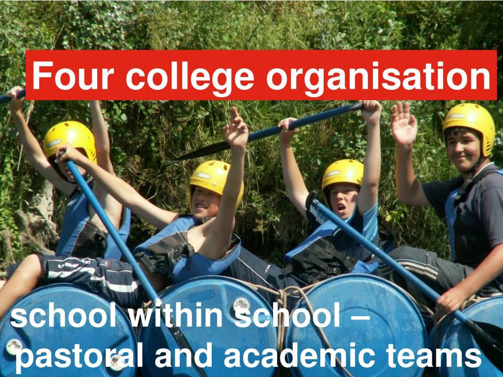 Four college organisation