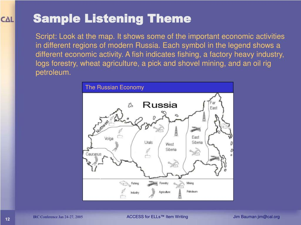 Sample Listening Theme