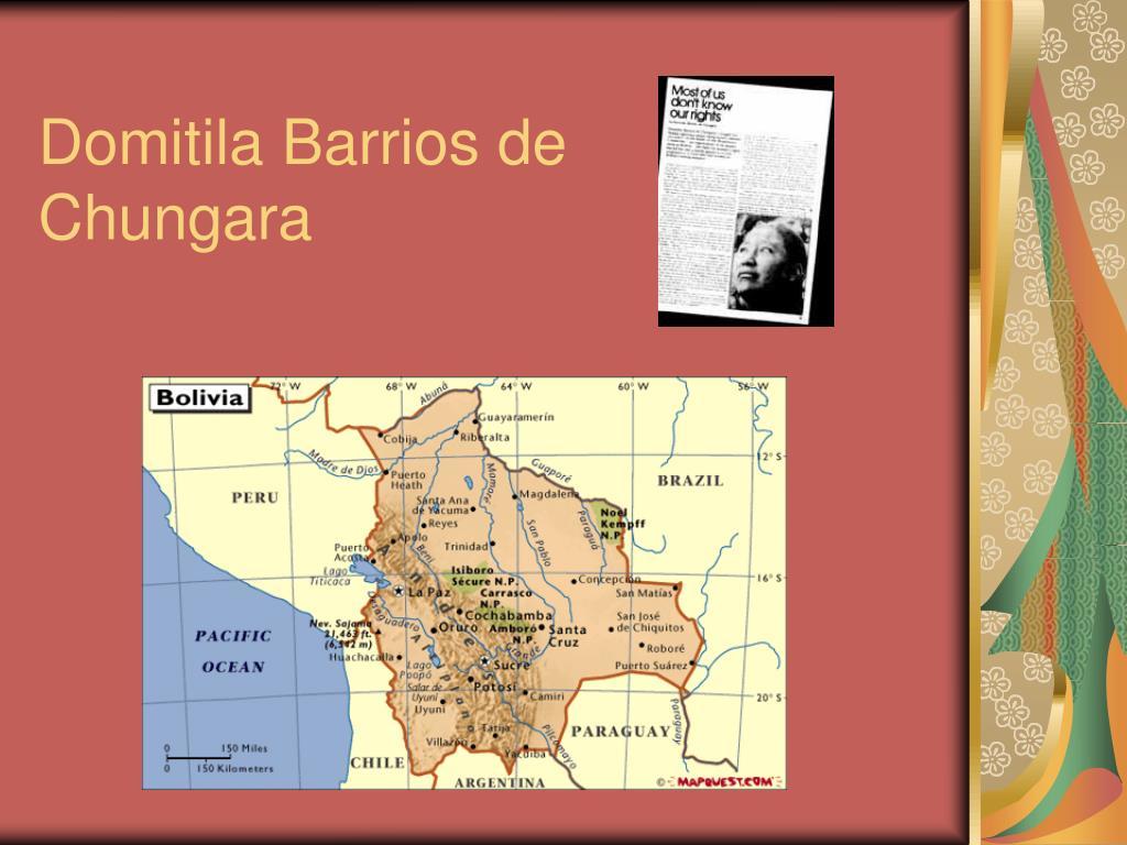 Domitila Barrios de Chungara