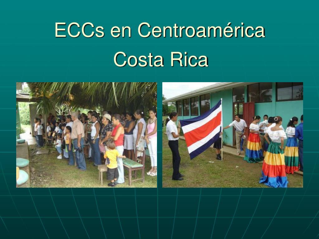 ECCs en Centroamérica
