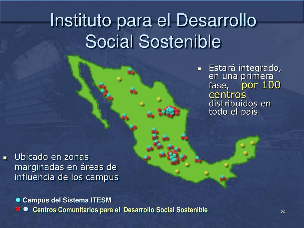 Instituto para el Desarrollo Social Sostenible