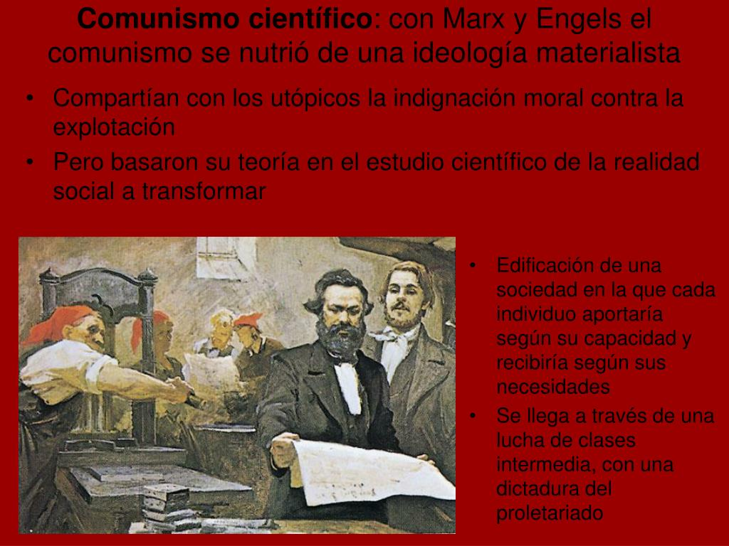 Comunismo científico