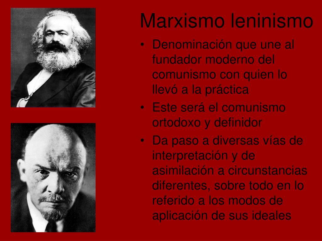 Marxismo leninismo