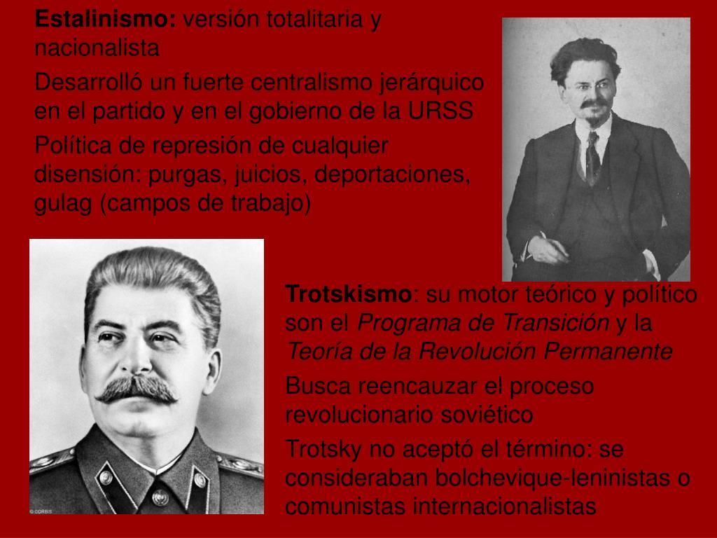 Estalinismo:
