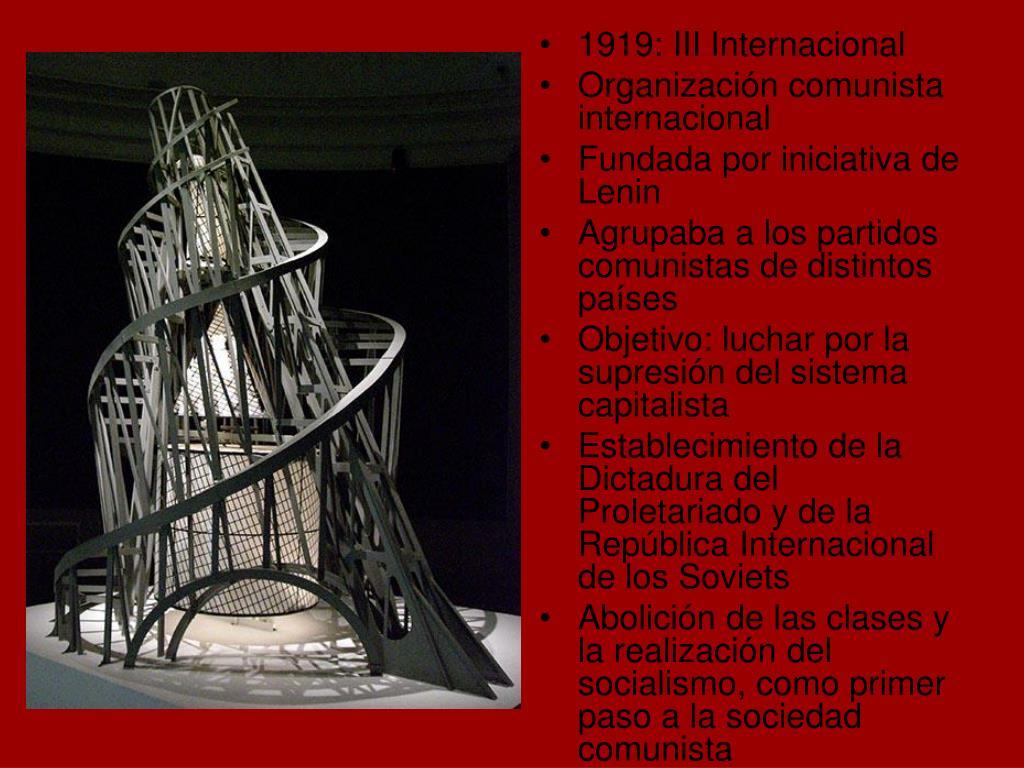 1919: III Internacional