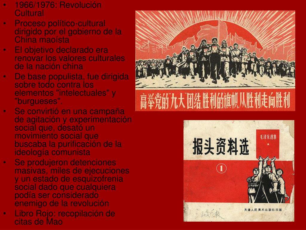 1966/1976: Revolución Cultural