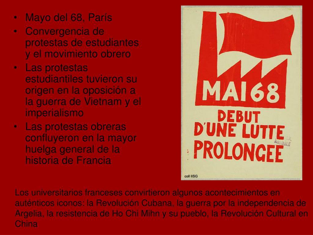 Mayo del 68, París