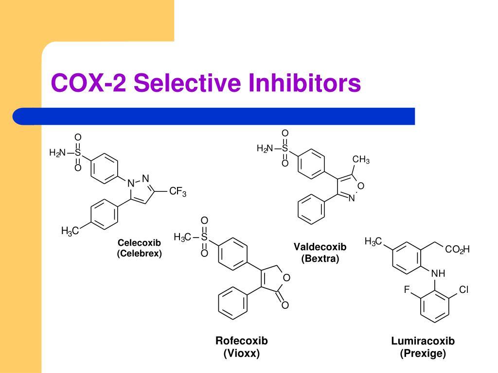 COX-2 Selective Inhibitors