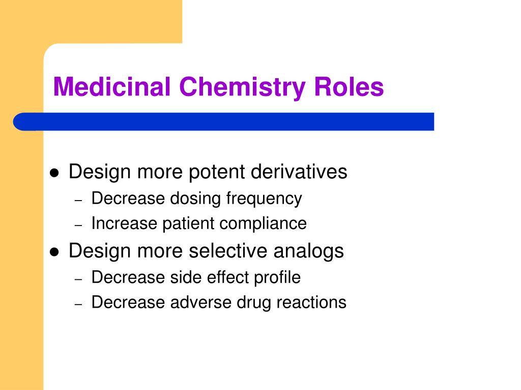 Medicinal Chemistry Roles