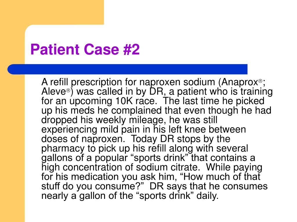 Patient Case #2