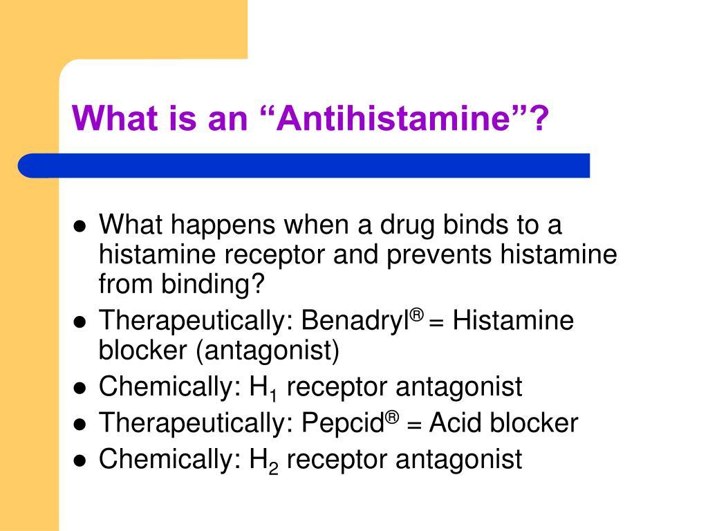 "What is an ""Antihistamine""?"