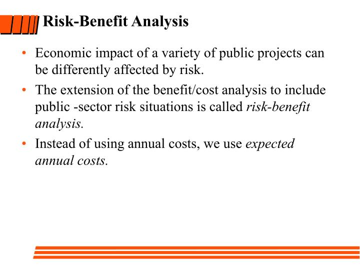 Risk-Benefit Analysis