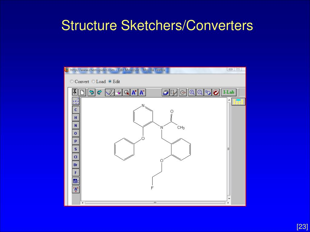Structure Sketchers/Converters