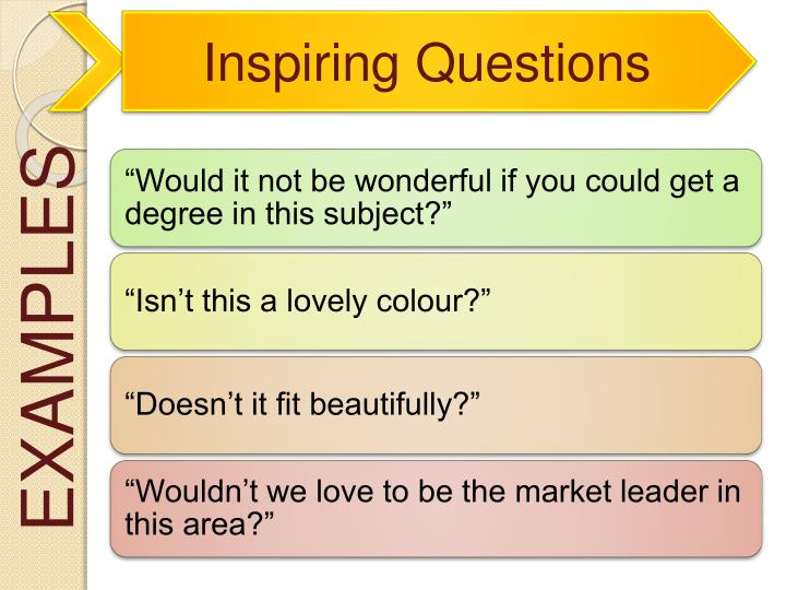 Inspiring Questions