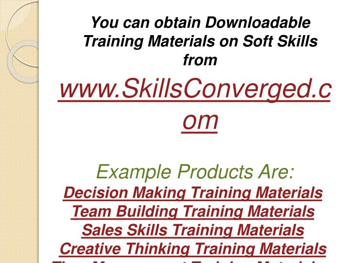 You can obtain Downloadable