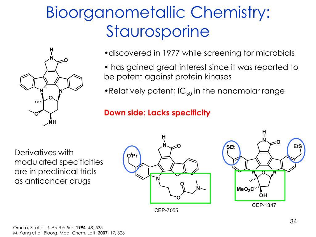 Bioorganometallic Chemistry: Staurosporine